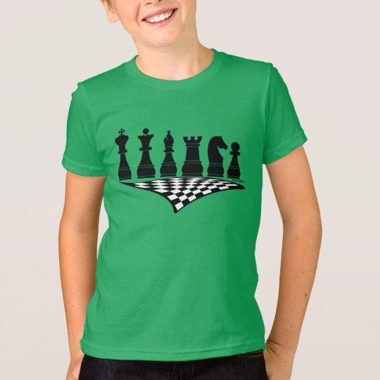 Sport Chess 2, Kid's t-shirt, wit-t-shirt T-Shirt