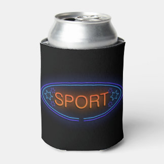 Sport concept. can cooler