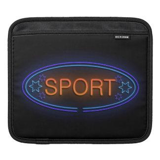 Sport concept. iPad sleeve
