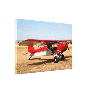 Sport Cub Plane, high wing aircraft Canvas Print