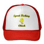 Sport Fishing Chick Mesh Hats
