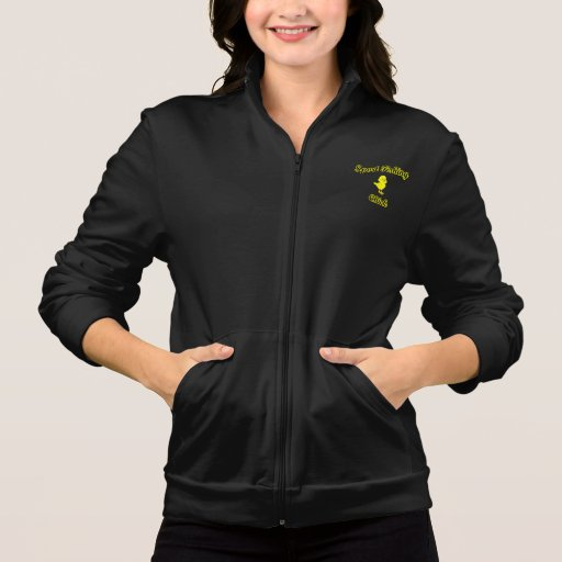 Sport Fishing Chick Printed Jackets