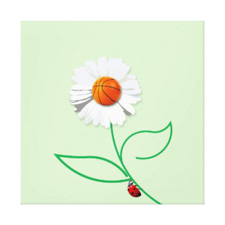 Sport flower canvas print