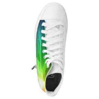 Sport footwear printed shoes