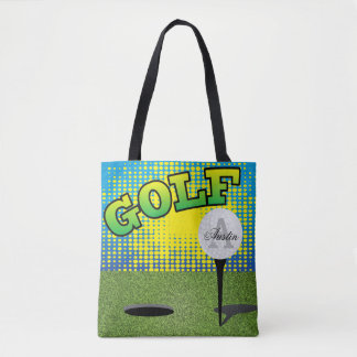 Sport Golf Design - DIY Text Tote Bag
