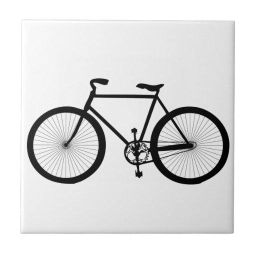 Sport, Hobby, Fun, Ride Bicycle Ceramic Tiles