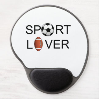 Sport Lover Wrist Support Mousepad Gel Mouse Pad