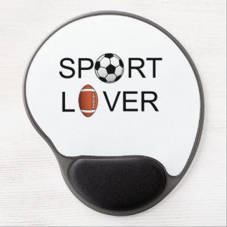 Sport Lover Wrist Support Mousepad Gel Mousepad