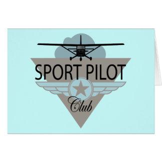 Sport Pilot Club Cards