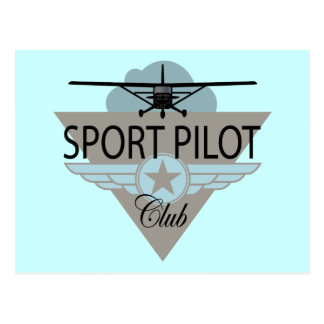 Sport Pilot Club Post Cards