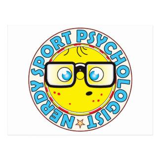 Sport Psychologist Nerdy Postcard