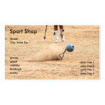 Sport Shop Double-Sided Standard Business Cards (Pack Of 100)
