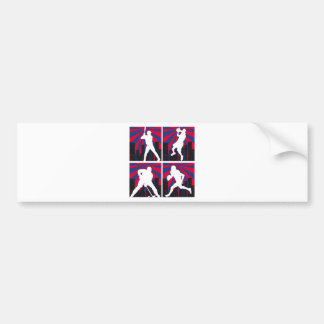 Sport Silhouettes Bumper Sticker