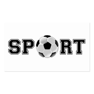 Sport (Soccer) Pack Of Standard Business Cards