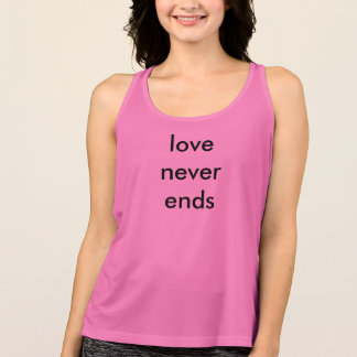 """Sport t-shirt """"love to never ends """""""