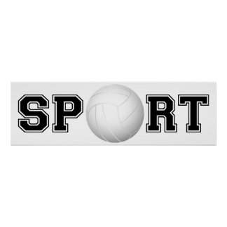 Sport (Volleyball) 1 Poster
