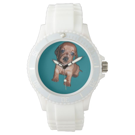 Sport wristwatch of silicone woman
