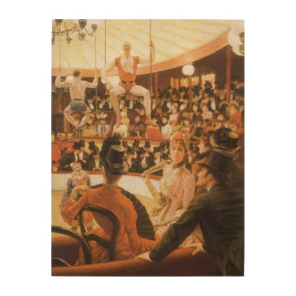 Sporting Ladies (or Circus Lover) by James Tissot Wood Canvases