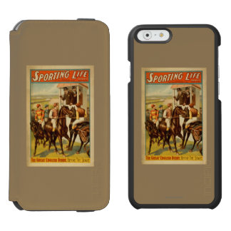 Sporting Life - The Great English Derby Theatre Incipio Watson™ iPhone 6 Wallet Case