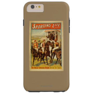 Sporting Life - The Great English Derby Theatre Tough iPhone 6 Plus Case