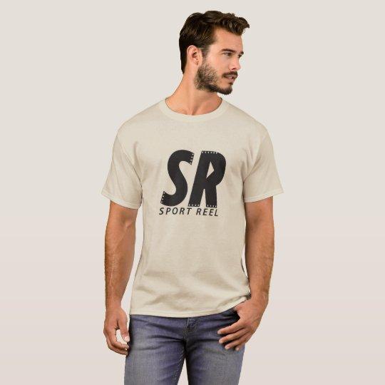 SPORTREEL SAND COLOUR T-SHIRT WITH ORIGINAL LOGO