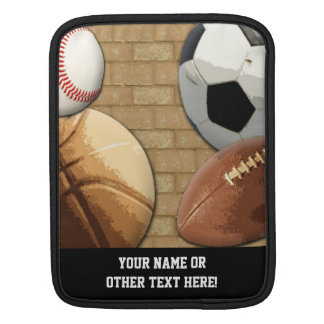 Sports Al-Star, Basketball/Soccer/Football iPad Sleeve