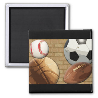 Sports Al-Star, Basketball/Soccer/Football Magnet
