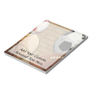 Sports Al-Star, Basketball/Soccer/Football Notepad