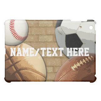 Sports All-Star, Basketball/Soccer/Football iPad Mini Cover
