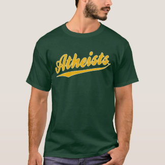 Sports Atheist T- Shirt
