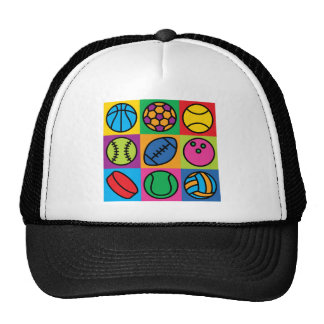 Sports Ball Icons Cap