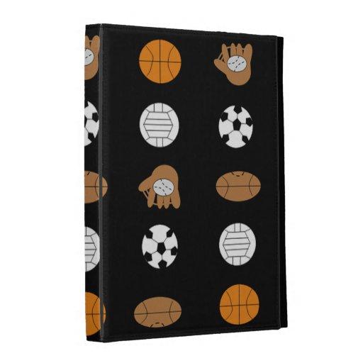 Sports Balls iPad Folio Cases
