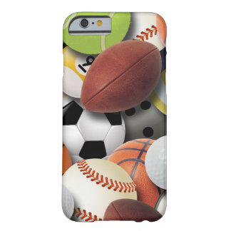 Sports Balls Collage Barely There iPhone 6 Case