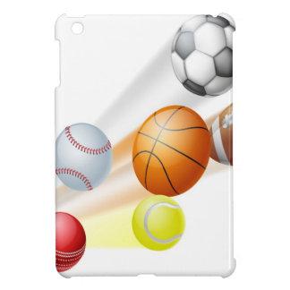 Sports balls concept iPad mini cases