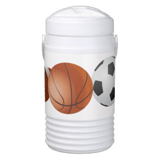Sports Balls Igloo Cooler. Cooler