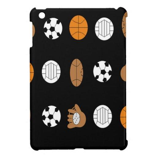 Sports Balls iPad Mini Cover