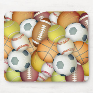 Sports-balls Mouse Pad