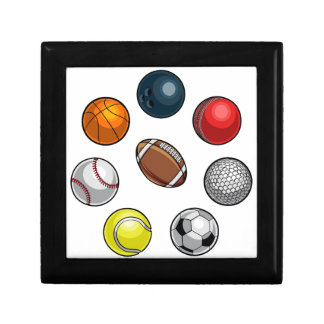 Sports Balls Set Gift Box