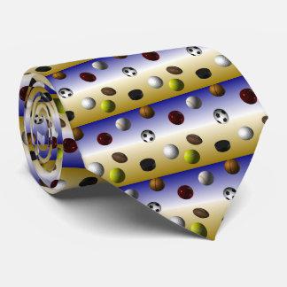 Sports Balls Tie