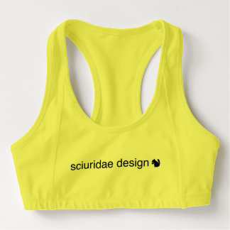 Sports bra keeps your spirits in place