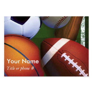 Sports Business and Profile Cards Template Business Card