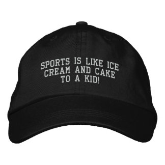 sports cap for him embroidered baseball cap