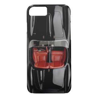 Sports Car Black iPhone X/8/7 Barely There Case