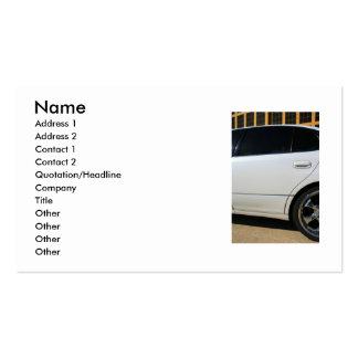 Sports Car Business Card