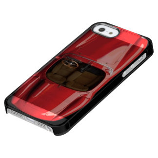 Sports Car iPhone SE/5/5S Clear Case
