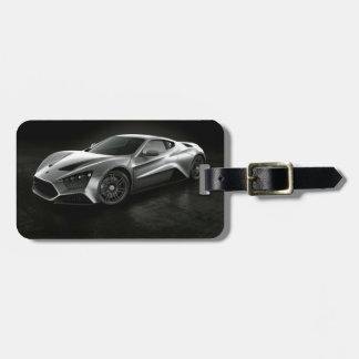 Sports Car Travel Bag Tags