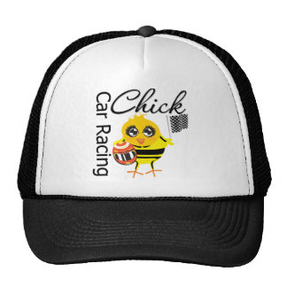 Sports Car Racing Chick Hat