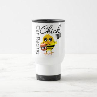 Sports Car Racing Chick Coffee Mugs