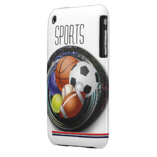Sports iPhone 3 Case-Mate Cases