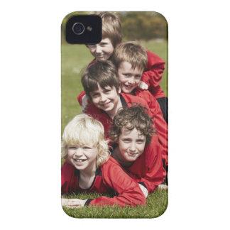 Sports, Children, Football iPhone 4 Case